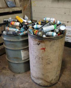 RCRA Audit Finds Improper Flammable Hazardous Waste Storage And Labeling
